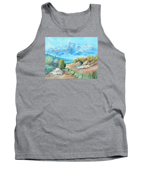 Colors In The High Desert Tank Top