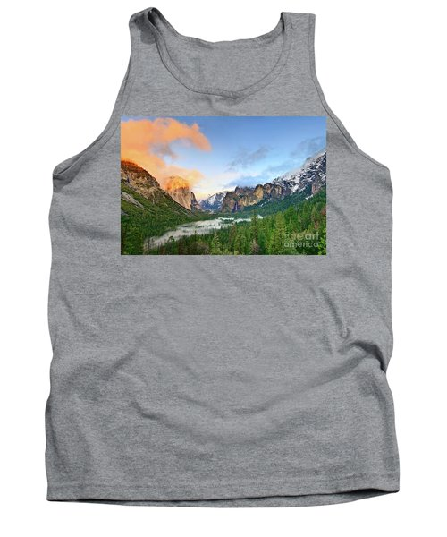 Colors Of Yosemite Tank Top