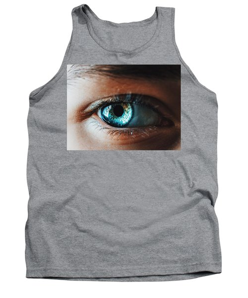 Tank Top featuring the photograph Colors by Parker Cunningham
