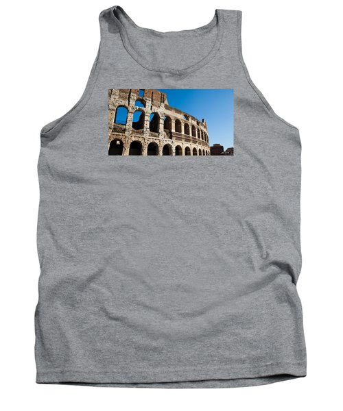 Tank Top featuring the photograph Colosseum - Old And New by Ed Cilley