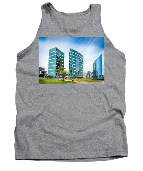 Colour Buildings Lima. Tank Top