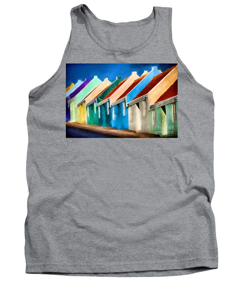 Coloured Tank Top by Jim  Hatch