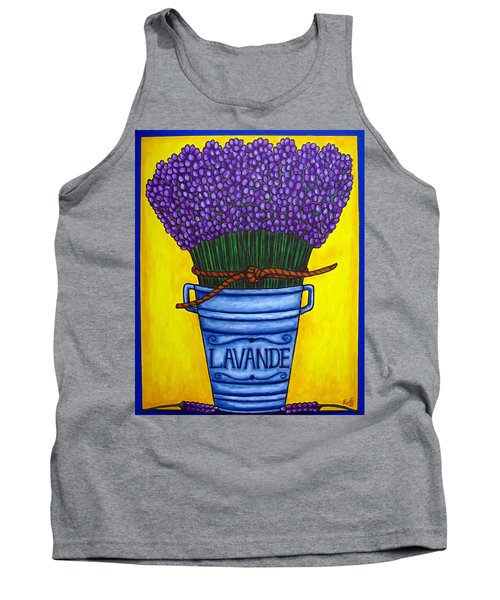 Colours Of Provence Tank Top