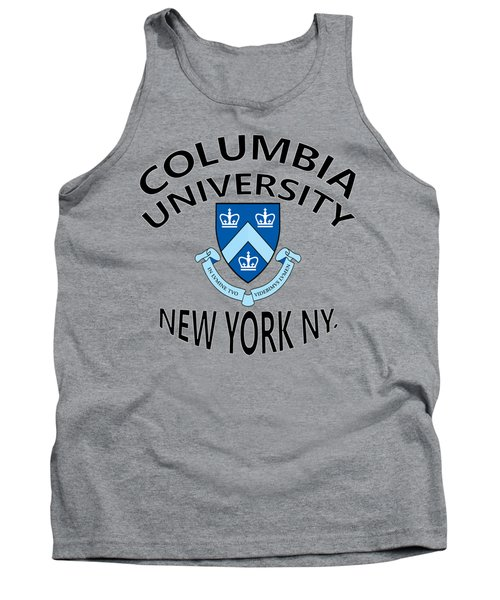 Columbia University New York Tank Top by Movie Poster Prints