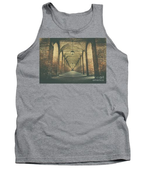 Columns In Sabbionetta, Italy Tank Top