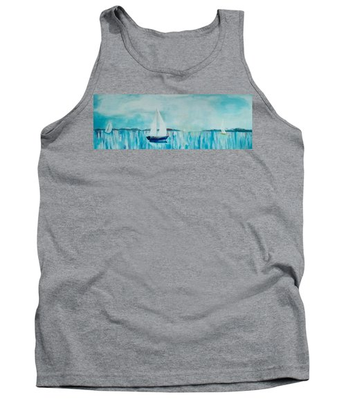 Come Sail Away Tank Top by Gary Smith