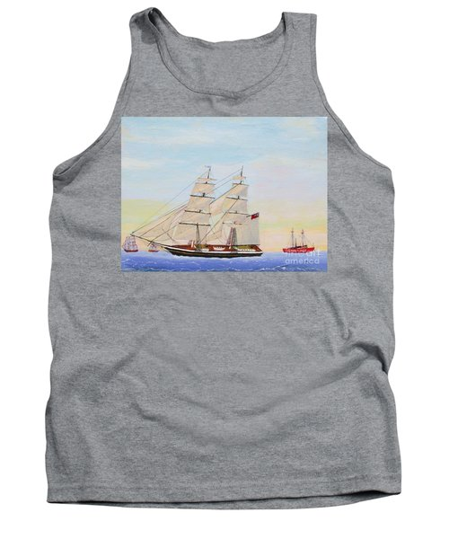 Coming To America - 1872 Tank Top by Bill Hubbard