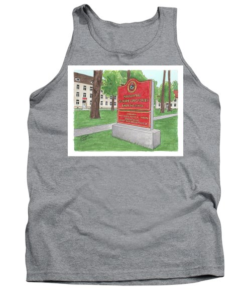 Commander Major General Russell A. Sanborn - Marforeuraf Tank Top