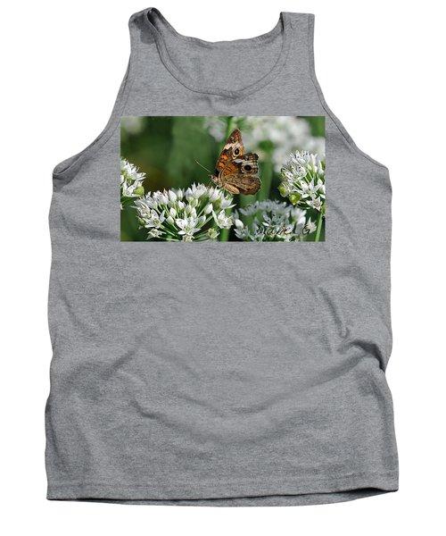 Common Buckeye Butterfly Tank Top