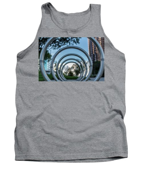 Commuter's Circle Tank Top