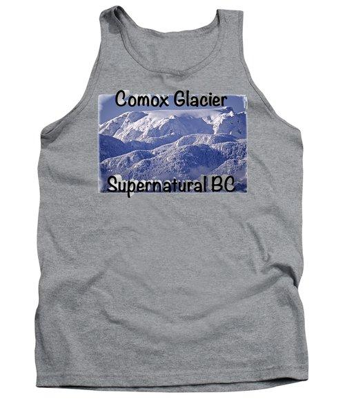 Comox Glacier And Fresh Snow Tank Top