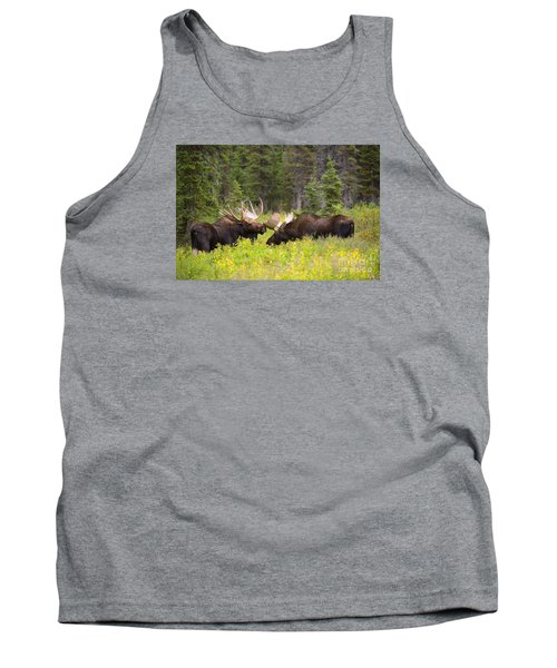 Tank Top featuring the photograph The Competition  by Aaron Whittemore