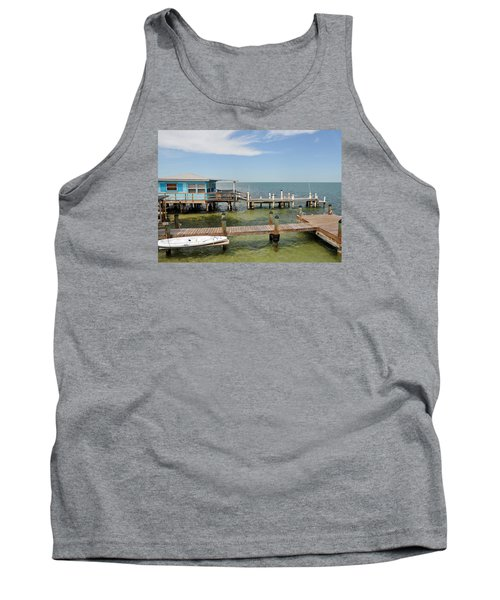 Conch Key Blue Cottage Tank Top