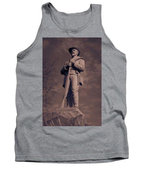 Confederate Statue  Standing Guard Tank Top