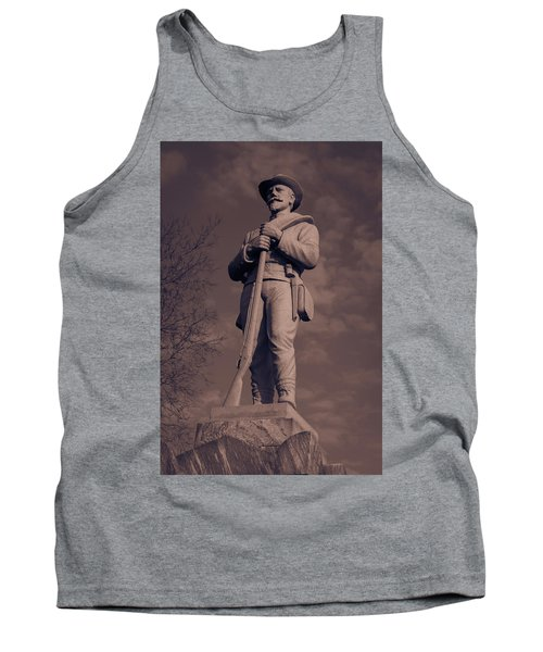 Confederate Statue  Standing Guard Tank Top