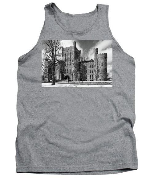 Tank Top featuring the photograph Connecticut Street Armory 3997b by Guy Whiteley
