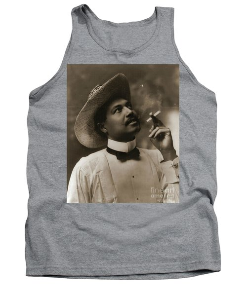 Tank Top featuring the photograph Connoisseur 1899 by Padre Art