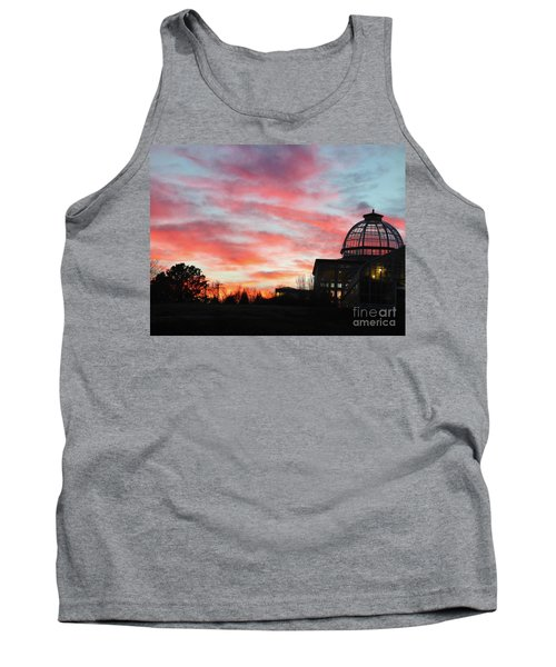 Conservatory At Sunset Tank Top