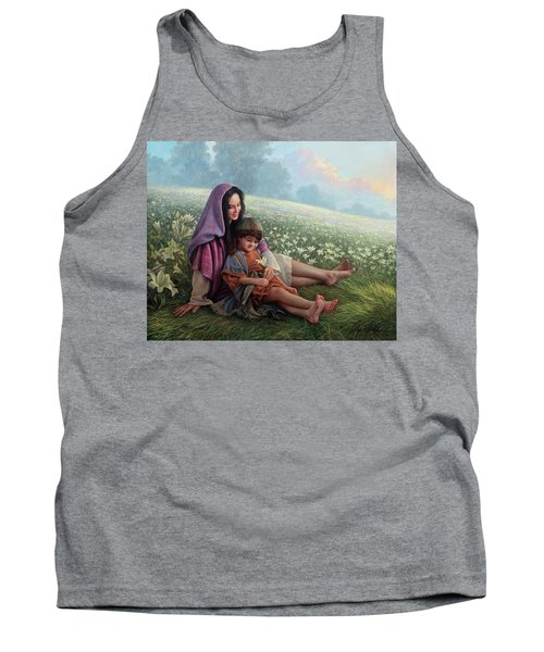 Consider The Lilies Tank Top