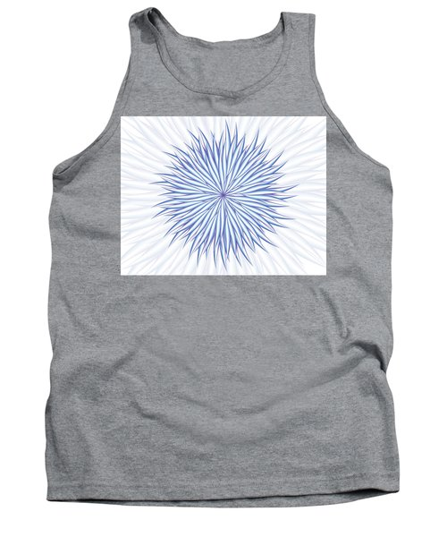 Tank Top featuring the digital art Consontrate by Jamie Lynn