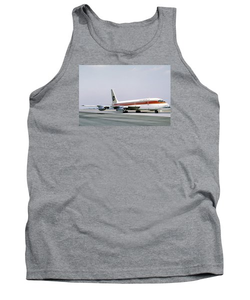 Continental Airlines 720-024b N17207 Los Angeles July 22 1972 Tank Top