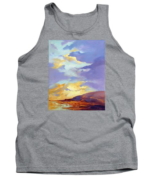 Tank Top featuring the painting Convergence by Rae Andrews