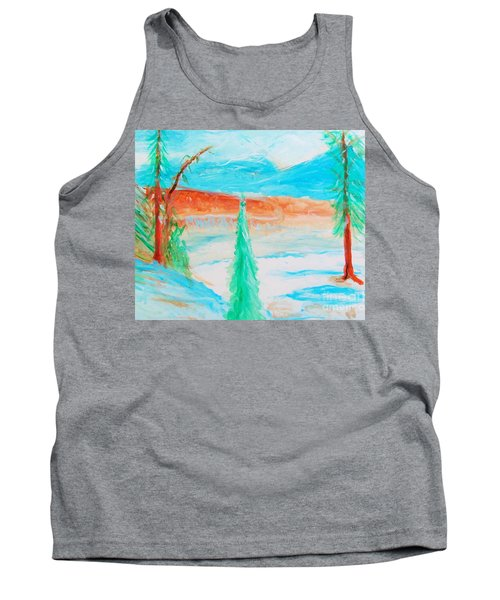 Cool Landscape Tank Top