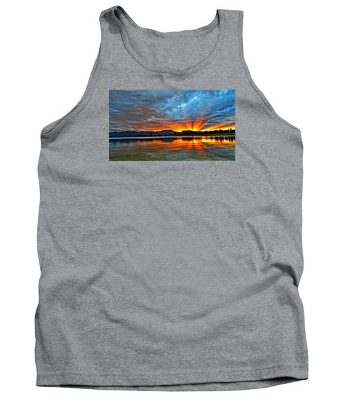 Tank Top featuring the photograph Cool Nightfall by Eric Dee