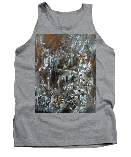 Copper And Mica Tank Top by Joanne Smoley