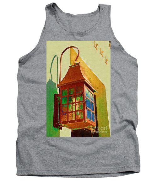 Copper Lantern Tank Top