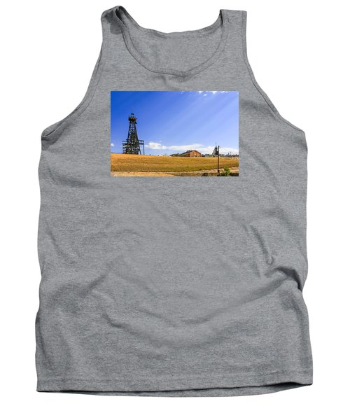 Copper Mining In Montana Tank Top by Chris Smith