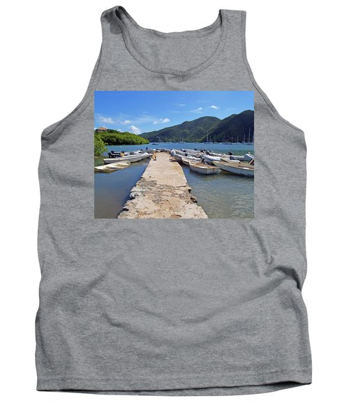 Coral Bay Dinghy Dock Tank Top