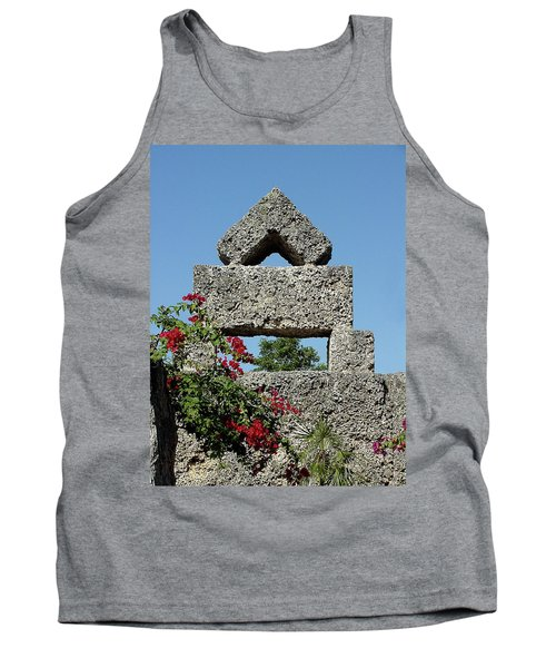 Coral Castle For Love Tank Top by Shirley Heyn