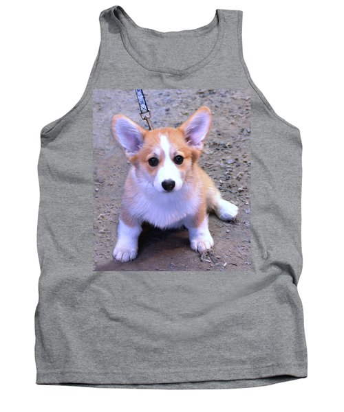 Corgi Puppy Tank Top