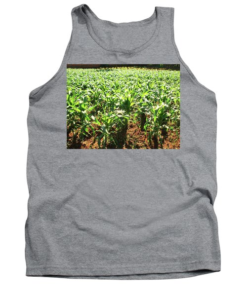 Tank Top featuring the photograph Corn Island by Beto Machado