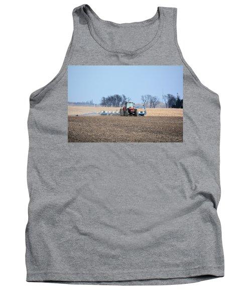 Corn Planting Tank Top by Bonfire Photography