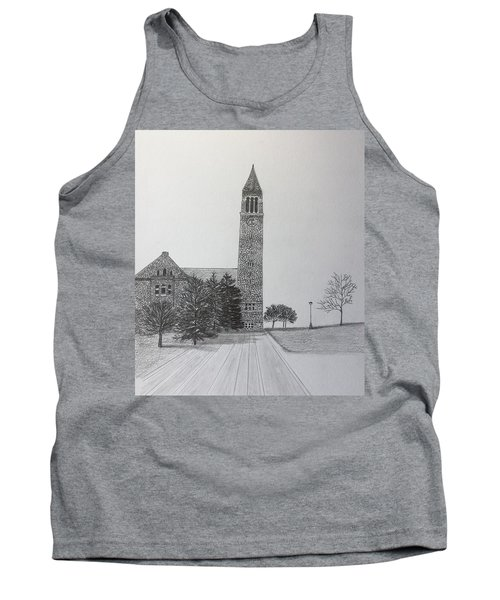 Cornell Clock Tower  Tank Top