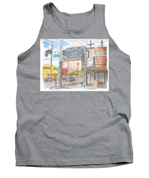 Corner 3rd St. And Orlando, Los Angeles, Ca Tank Top