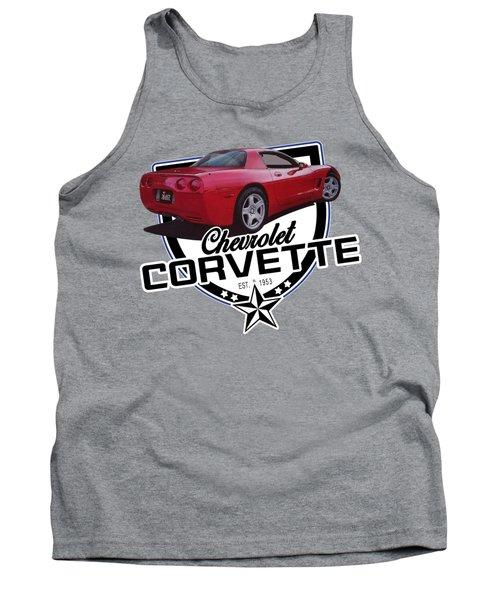 Corvette From 1999 Tank Top