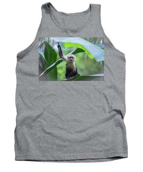 Costa Rica Monkeys 1 Tank Top