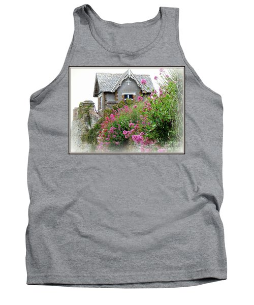 Cottage On The Hill Tank Top by Anne Gordon
