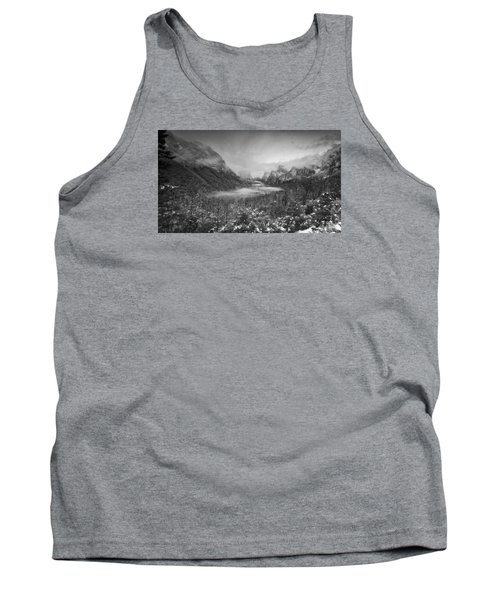Tank Top featuring the photograph Cotton Candy Blankets Yosemite by Lora Lee Chapman