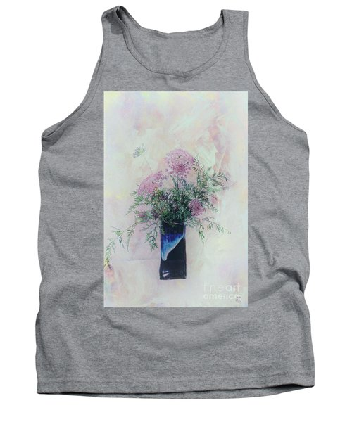 Tank Top featuring the photograph Cotton Candy Dreams by Linda Lees