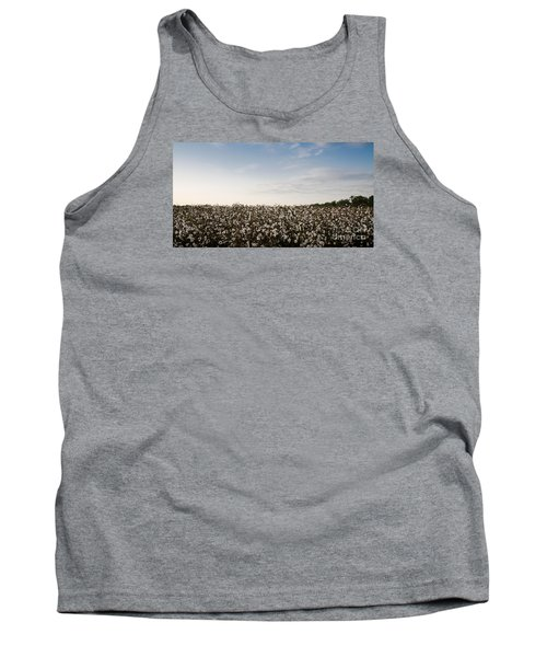 Cotton Field 2 Tank Top by Andrea Anderegg