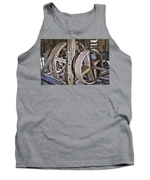 Cotton Gin Pulleys Tank Top