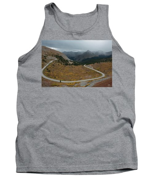 Tank Top featuring the photograph Cottonwood Pass #2 by Dana Sohr