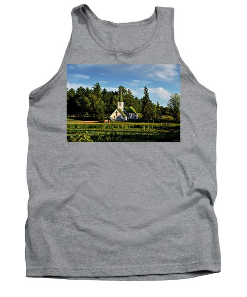 Tank Top featuring the photograph Country Church 003 by George Bostian
