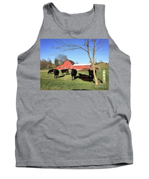 Country Cows Tank Top