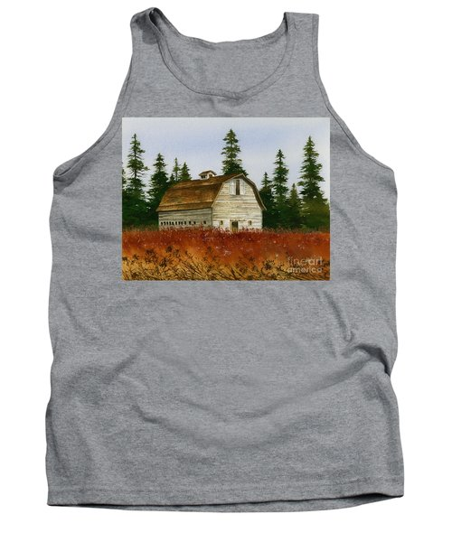 Tank Top featuring the painting Country Landscape by James Williamson