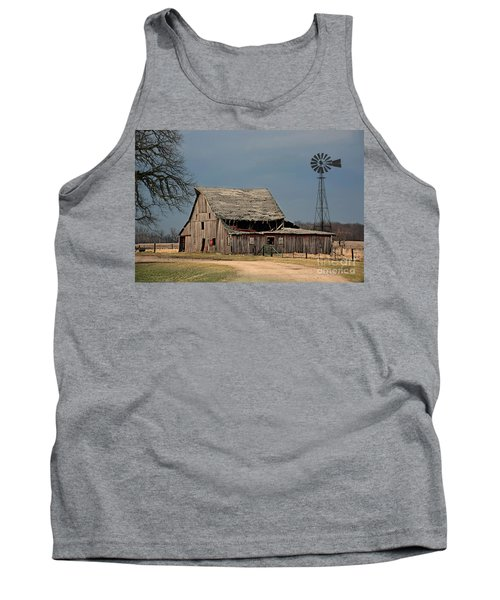 Country Roof Collapse Tank Top